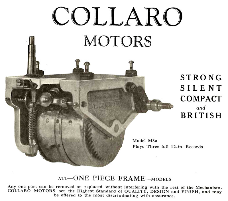Collaro Motors Model M3a image